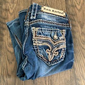 Rock revival janelle straight leg jean